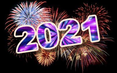Au revoir 2020, bienvenue 2021!